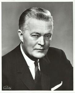 Jean Lesage, premier ministre du Québec, père de la Révolution tranquille