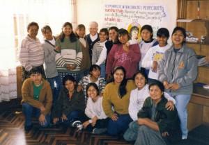 Groupe de jeunes filles (promotion vocationnelle)