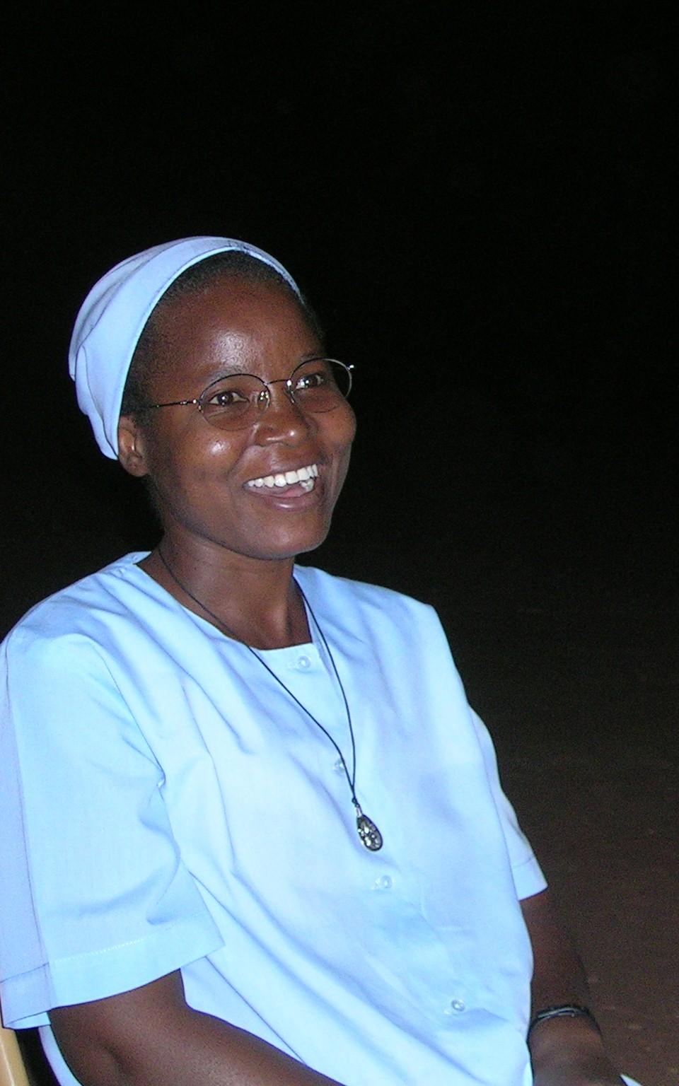 Soeur Aline Kouda, africaine