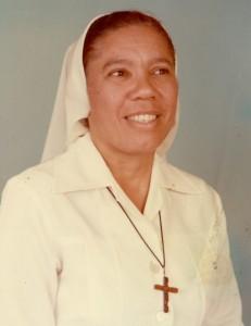 Sœur Patria Moreta, première dominicaine en Afrique