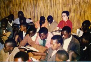 5_Soeur Monique et élèves