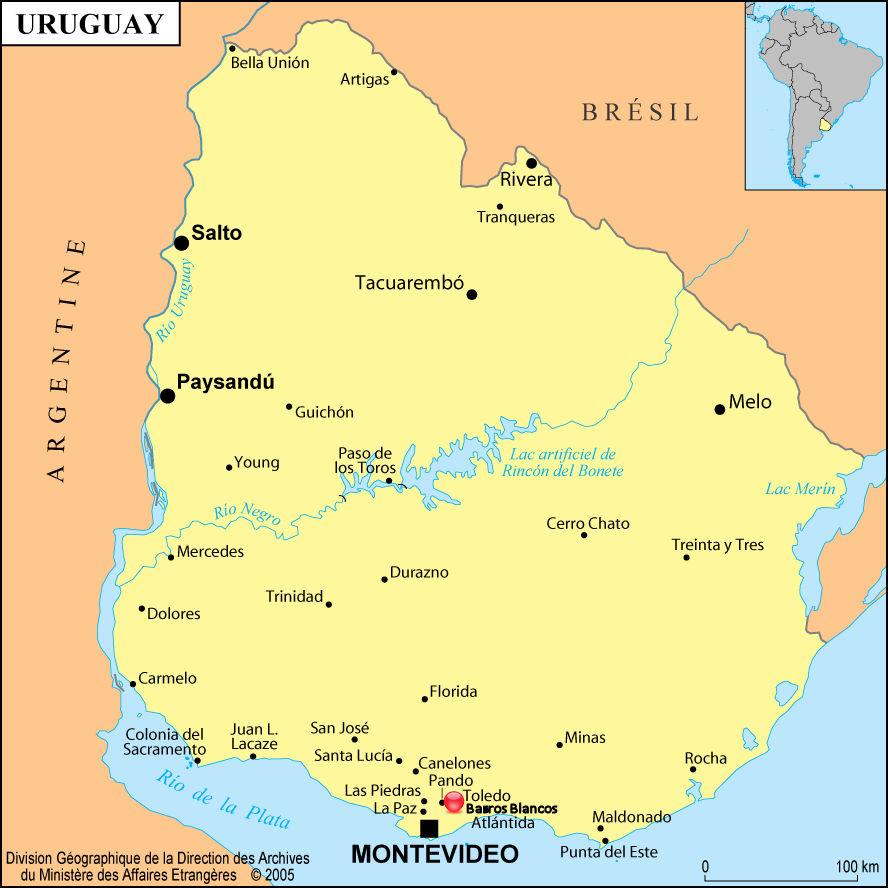 1_Carte_uruguay avec Barros Blancos