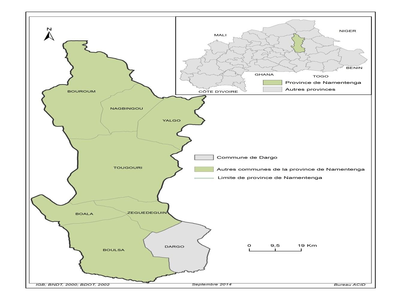 Carte géographique